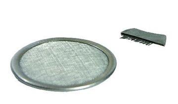 Bild von Edelstahl-Räuchersieb 8.5 cm mit Bürstchen